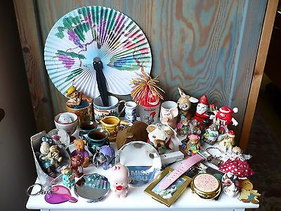 Collection Small Job Lot of Curios, Collectables ~ Vintage Christmas Fairylite