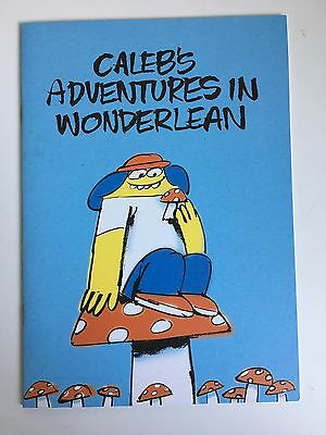 AMOS Caleb's Adventures in Wonderlean Comic, Limited Edition, James Jarvis