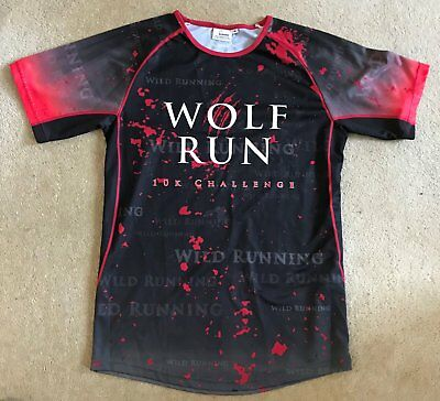 Wolf Run Finishers Men's Technical T-Shirt - Size Medium