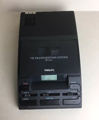Philips 720 Transcription System Executive - Type LFH 0720/00 - Preowned