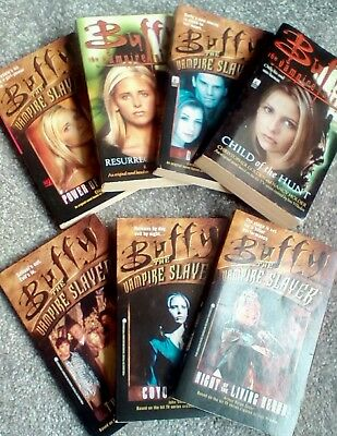 Buffy The Vampire Slayer 7 Book Collection