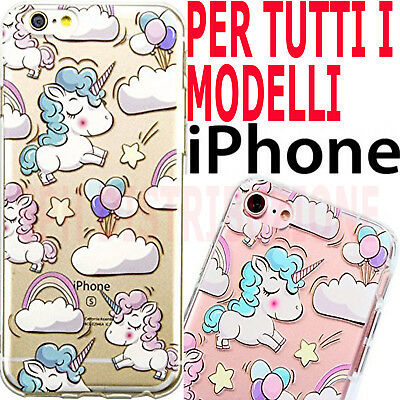 COVER UNICORNO Pellicola morbida Custodia TPU SILICONE sottile per Apple Iphone