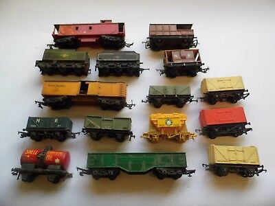 Triang Hornby / Dublo Rolling Stock -28 Items Spares Or Repair Only