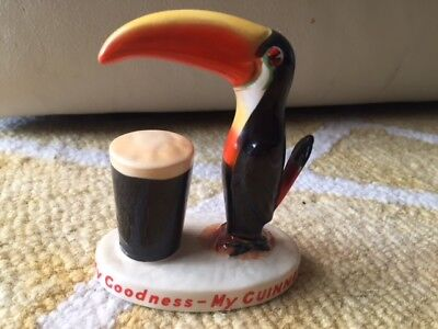 Carlton Ware Guinness Small Toucan with Pint CA2197B - Mint condition