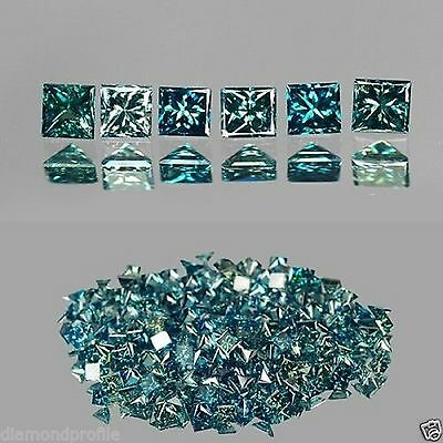 0.40 Cts TOP SPARKLING GREENISH BLUE COLOR NATURAL LOOSE DIAMONDS