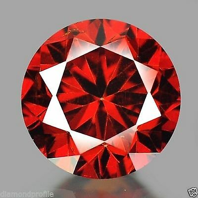 0.10 Cts Fancy Rare Sparkling Quality Red Color Natural Loose Diamond investment