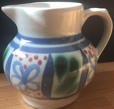 Buchan Stoneware Jug Made In Portobello Scotland