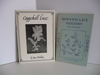 Coggeshall lace by Jean Dubbing  Bobbin Lace History and Downton Lace industry