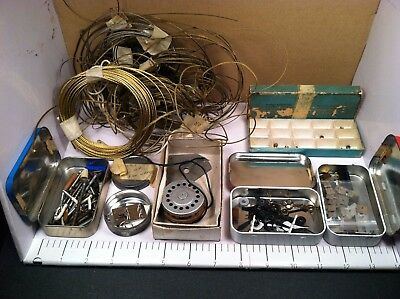*** Mixed Lot of Clock Repair Watch Repair Parts & Screws  ***