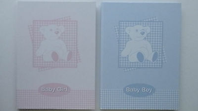 Baby Record and Memory Book (Choice of 2)