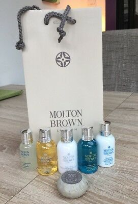 Molton Brown Gift Set Shampoo conditioner face Wash body Lotion Body Wash soap