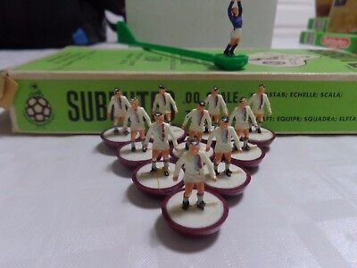 Subbuteo 1970's Hw Team Ref 102 Crystal Palace Boxed.