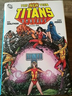 The New Teen Titans Omnibus Volume 2 wolfman perez 2012 DC graphic novel
