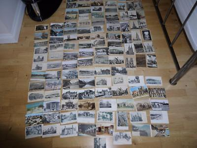 Superb Collection 120 Foreign Vintage Postcards Most <1930 Inc Africa  India Etc
