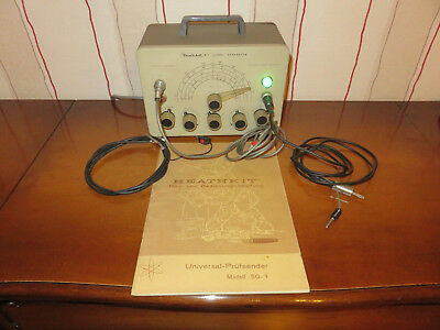 Heath Kit Prüfsender / Signal Generator. Works/Funktioniert World Wide Shipping!