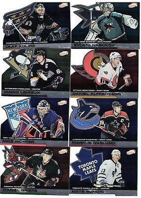 NHL Tradingcard Set – 2002-03 Pacific Atomic – 100 Cards – ! sehr selten !