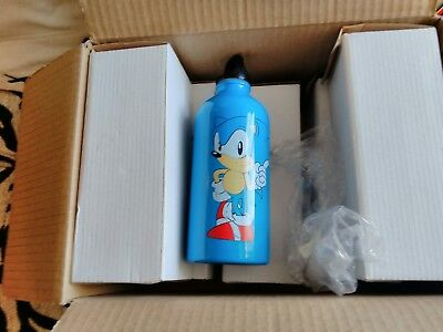 joblot wholesale 6 x sonic the hedgehog waterbottles BNWT