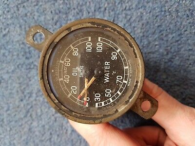 Jaguar XK150 Smiths Water Temperature/Oil Pressure Gauge GD1600/02