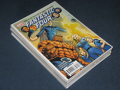 Fantastic Four (2003 Series). Issues 570-588 by Jonathan Hickman