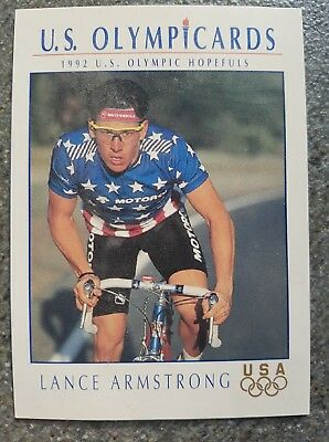 US Olymp Cards Lance Armstrong OS 1992 Nr. 31 Trading Card