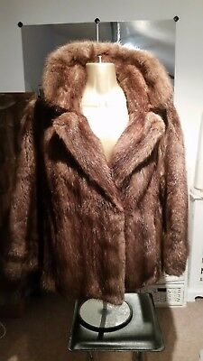 Lovely vintage real fur jacket