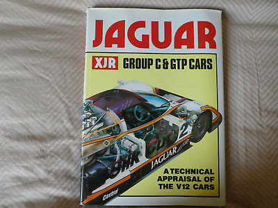"""Jaguar XJR Group C &GTP Cars"" Bamsey 1989 Le Mans XJR9 TWR  D type V12 1988"