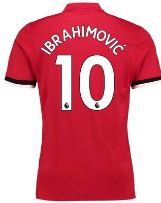 IBRAHIMOVIC maglia manchester united