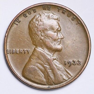 AU 1932 Lincoln Wheat Cent Penny FREE SHIPPING!