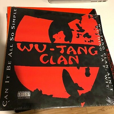 "Wu Tang Clan Can It Be So Simple 12"" Vinyl 1994 US Import  Hip Hop"