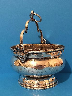 Solid Silver Holy Water Bucket