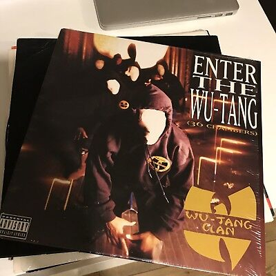 Wu Tang Clan Enter The Wu Tang 36 Chambers 1993 Vinyl Lp US Import Hip Hop Rare!