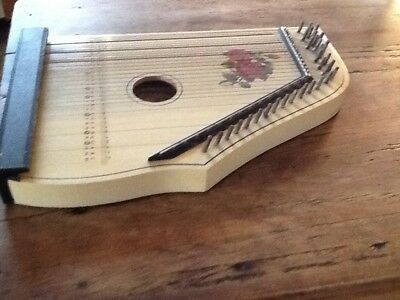 Cithare Ancienne Zither Made In Germany