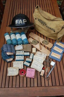 W.w. 2. Home Front First Aid  Party ( F.a.p. ) Grouping