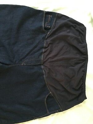 Maternity Jeans Over Bump Size 22