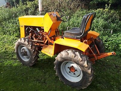 Jcb Garden Tractor Barn Find Compact Tractor Ride On Mower 4X4 Tractor