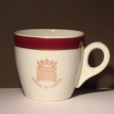 House of Lords Parliament Espresso Coffee Shot cup Sampson Bridgwood and Son