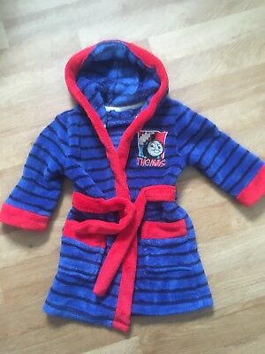 Thomas The Tank Engine Dressing Gown Age 18-24. Months