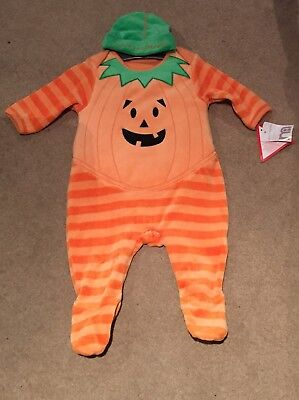 Pumpkin Baby Grow, Mothercare 0-3 Months HALLOWEEN