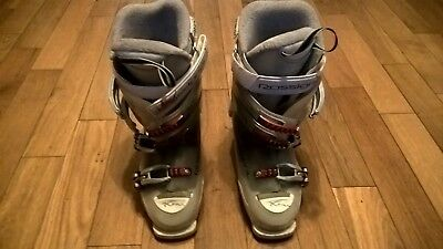Rossignol women's girl ski boots 24.5 288 mm UK 5 (would fit 4.5-5) Comfortable