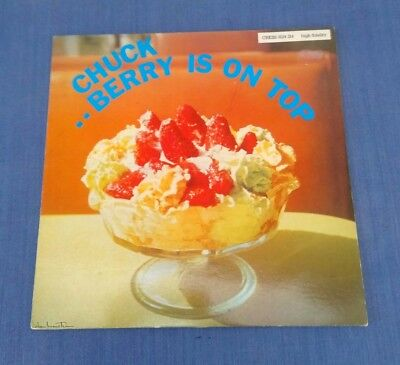 Chuck Berry L.p. 1959.    'berry Is On Top.'    Chess Recs  -  9124 214.   Vg+.
