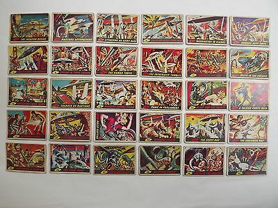 MARS ATTACKS full/complete 1963 British/UK/English set of 55 Topps/Bubbles Inc.