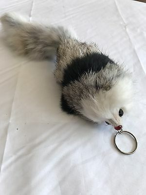 Mouse Keychain Soft Furry Backpack Wild Farm Auto Children Soft Cuddly Small