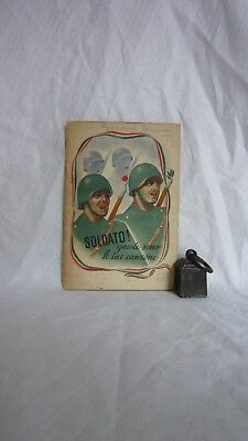 Soldato! queste sono le tue canzoni 1941 Illustrated Italian WW2 Song Book