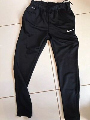 Nike Dry Fit Football Training Pants Black RRP £30
