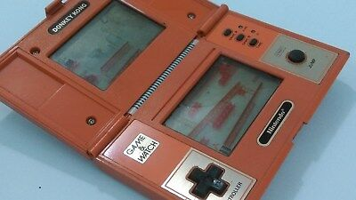 Nintendo Game and watch Donkey Kong Double Screen LCD Retro vintage hand held ga