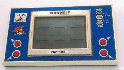 Nintendo Game and watch Manhole LCD Retro vintage hand held game