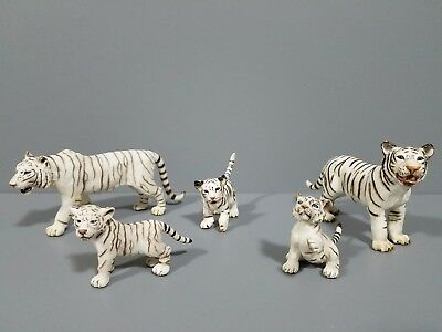 Schleich lot of 5 Bengal Tiger in excellent condition ! See pictures