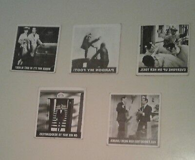 Get Smart 1966 Lot Of 5 Different Non Sports Cards