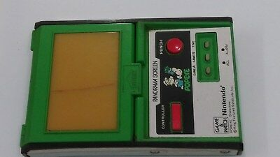 Nintendo Panorama Game and watch Popeye mirror screen LCD Color