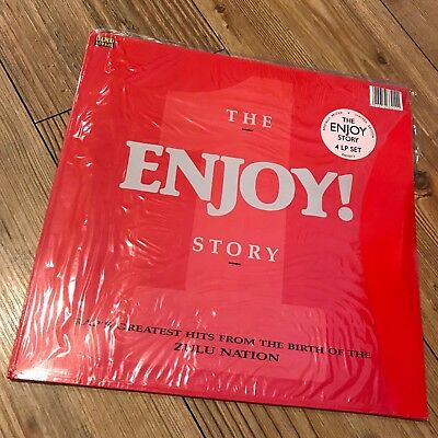The Enjoy! Story  1988 Old School Hip Hop Compilation 4 X Vinyl Street Sounds